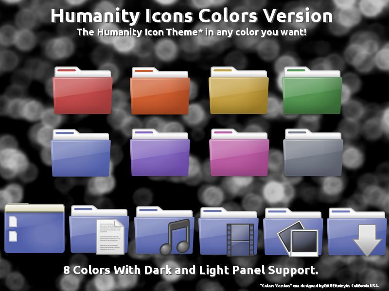 Tema ikon Humanity Colors