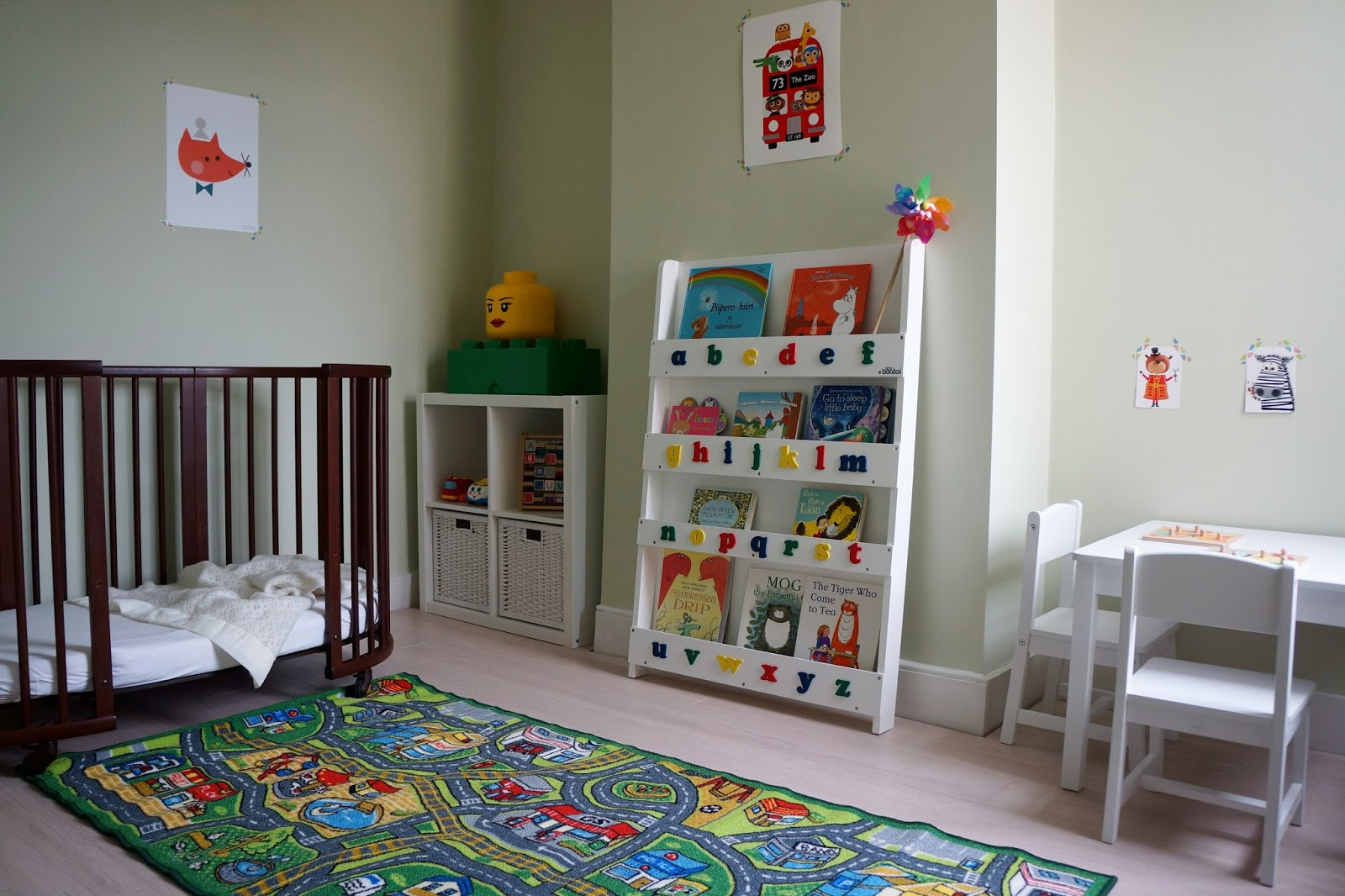fun and toddler-friendly baby bedroom