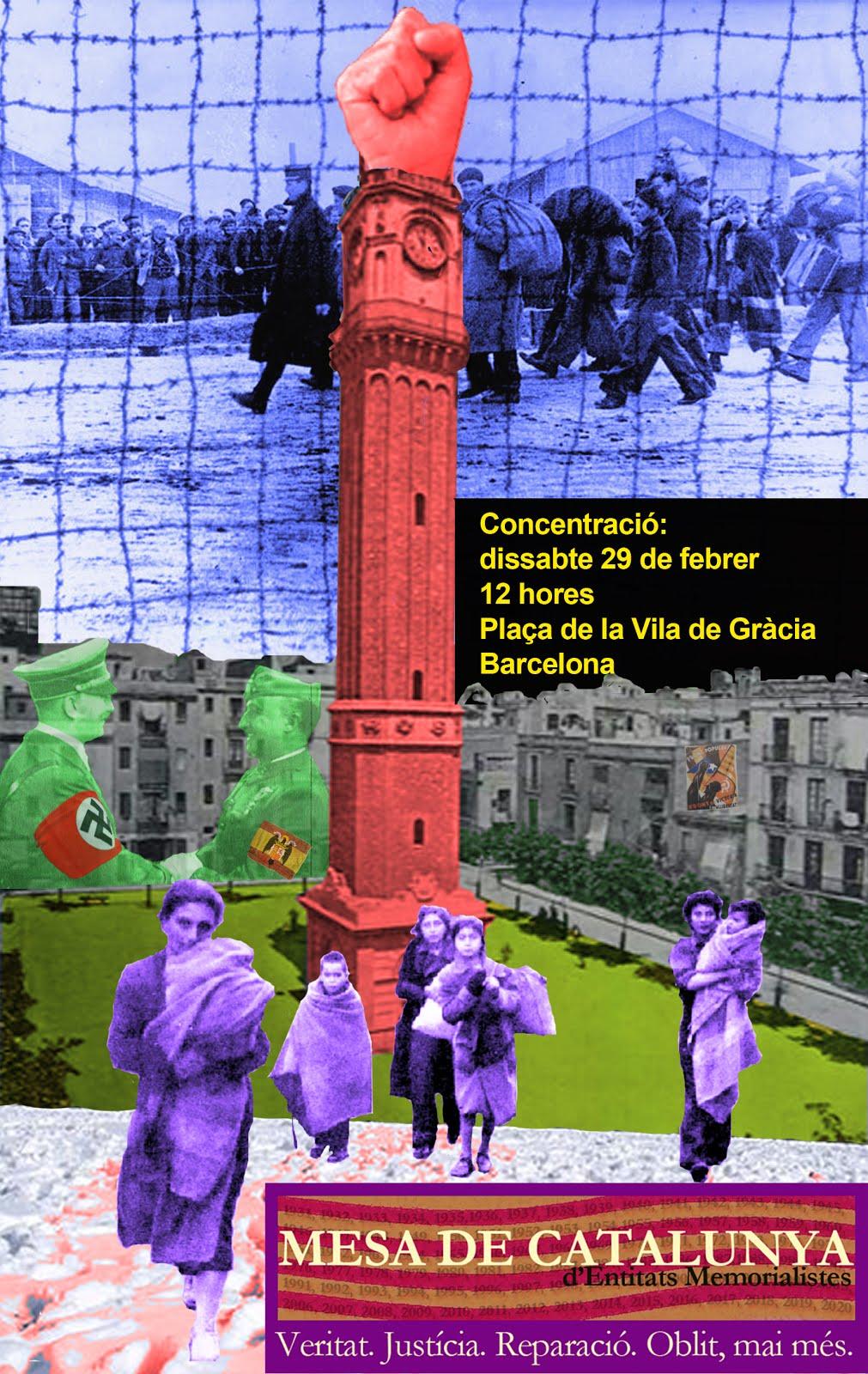 CENT DOTZENA CONCENTRACIÓ