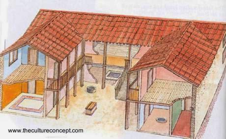 Arquitectura de casas la casa en la antigua grecia for Spartan 6 architecture