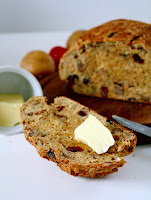 Potatoe Bread Cranberries Walnuts