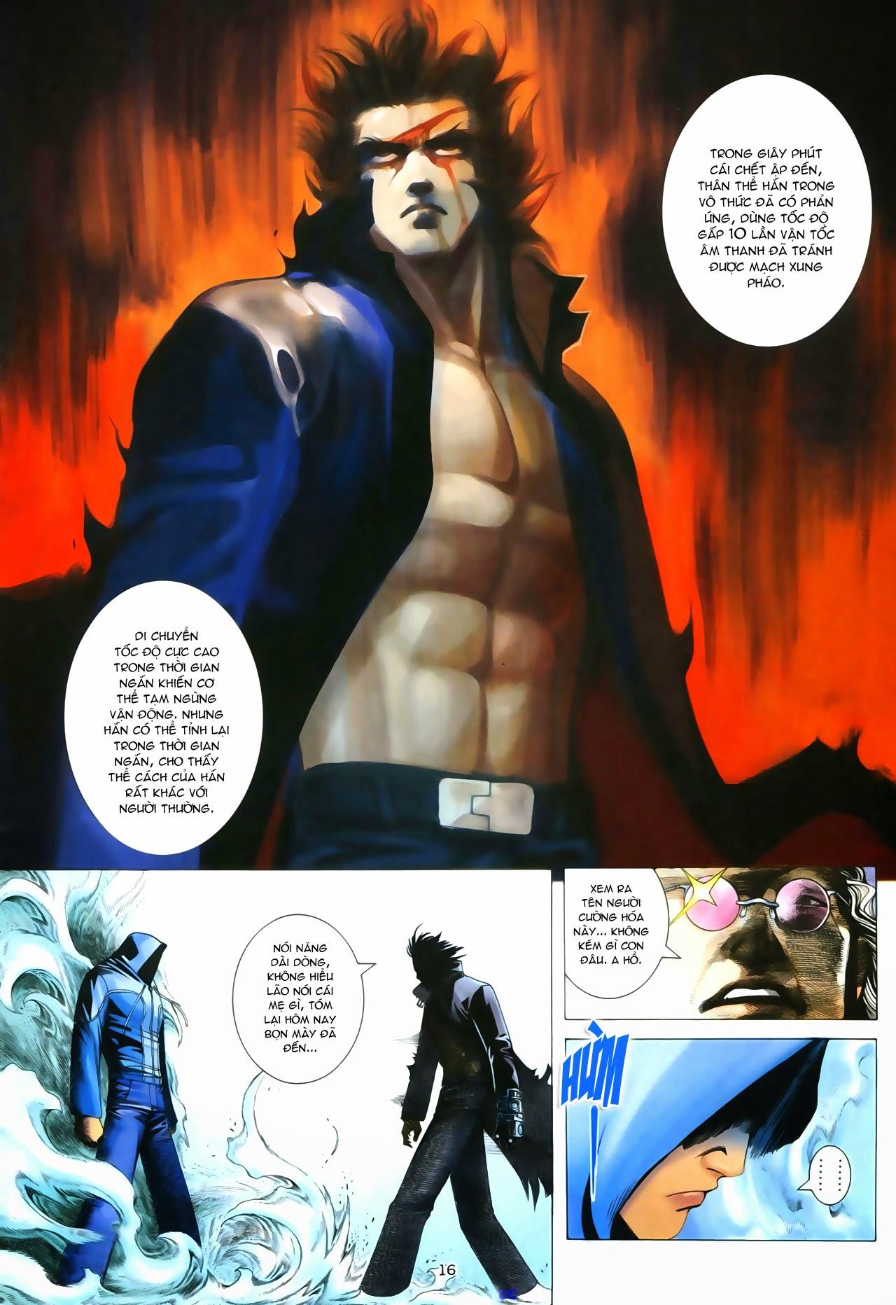 Tuyệt Địa Thiên Hành chap 8 Trang 16 - Mangak.info