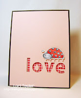Love Bug-designed by Lori Tecler-Inking Aloud-stamps from Papertrey Ink