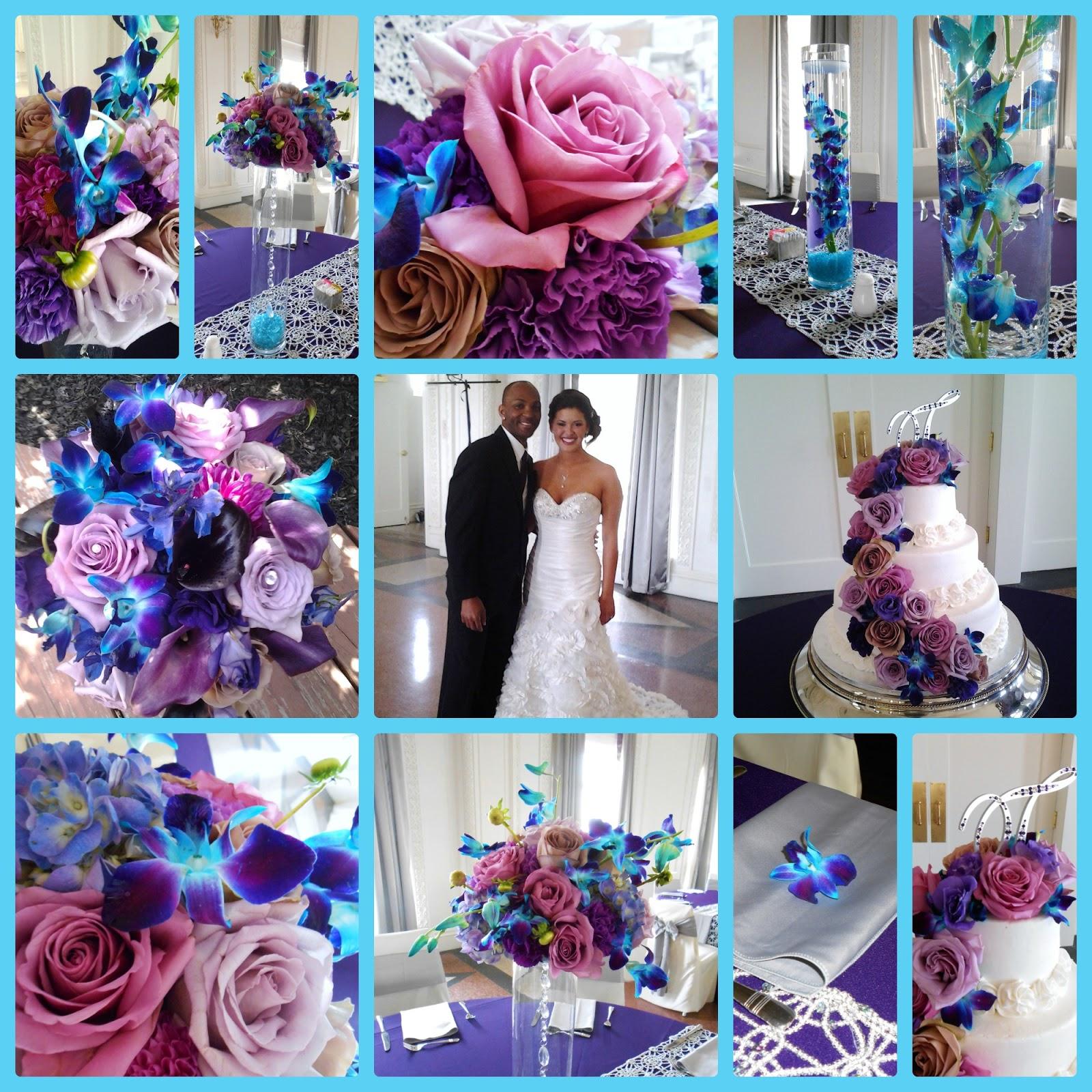 Свадьба в голубых и розовых тонах фото