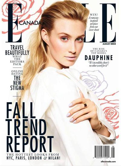 Download Elle Canada - August 2013 Full PDF Magazine free