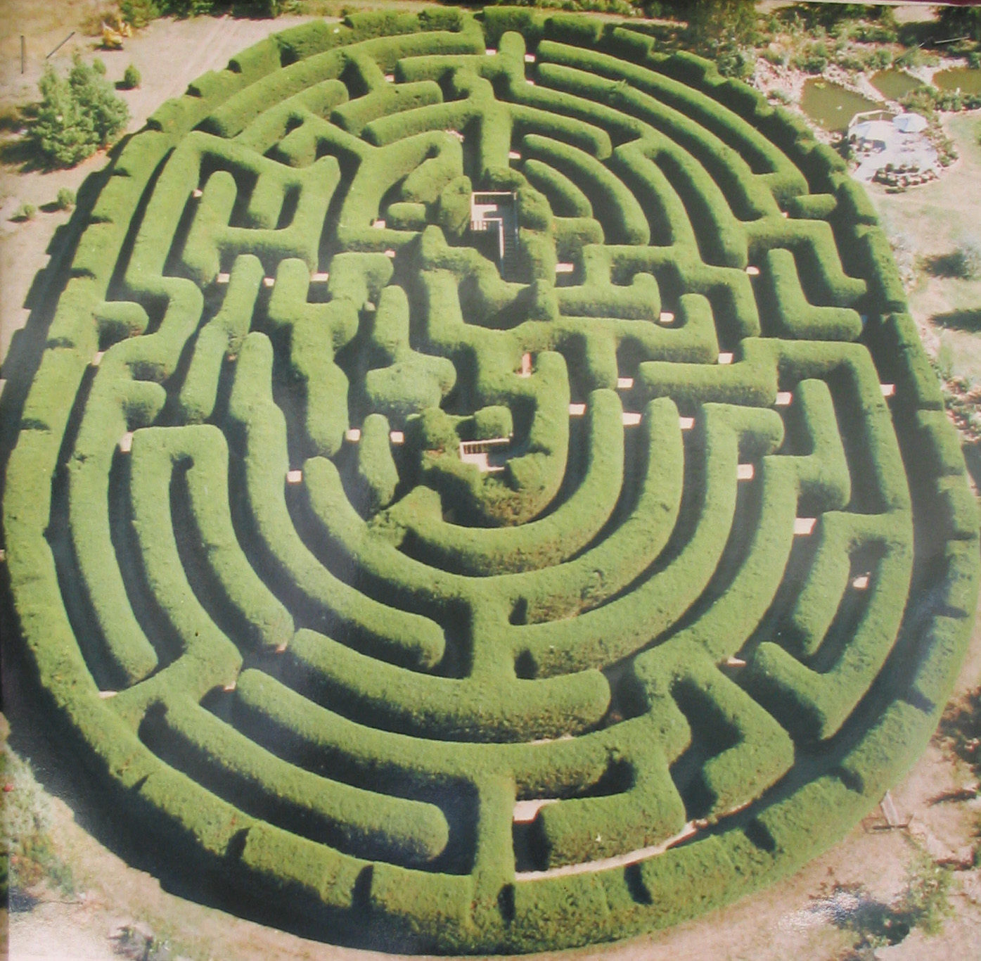 Genericide on old school difficulty in games for Garden maze designs