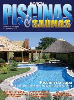 Brinde Grátis Revista Piscinas & Saunas