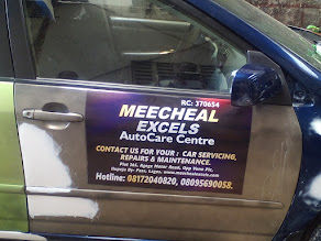 BRAND YOUR VEHICLES OF ALL TYPES @ MEECHEAL EXCELS AUTO CARE CENTRE