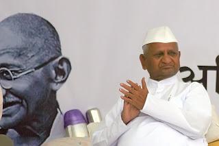 Anna Hazare Fast unto death