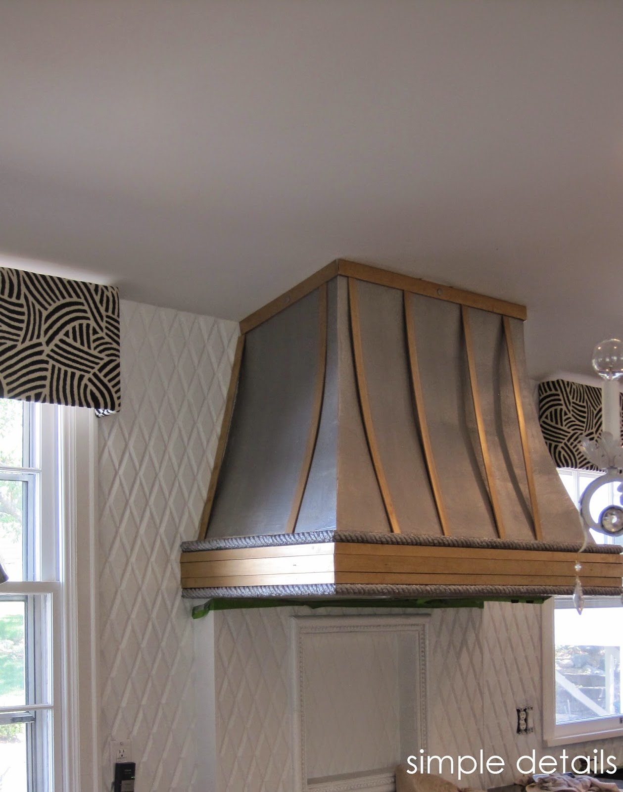 Simple Details Diy Metal Range Hood