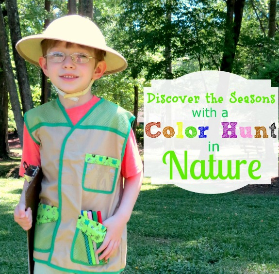 Discover the Seasons with a Color Hunt in Nature