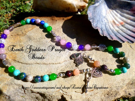 Earth Goddess Prayer Beads