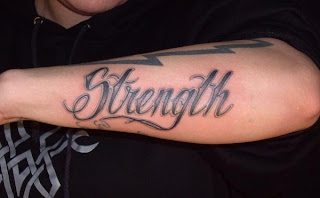 strength tattoos, tattooing