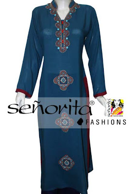 Senorita Fashions New Eid Dresses 2013 For Women