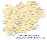 BROCANTES ET VIDE-GRENIERS DANS LE VAR 83