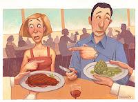 Casais vegetarianos... ou não