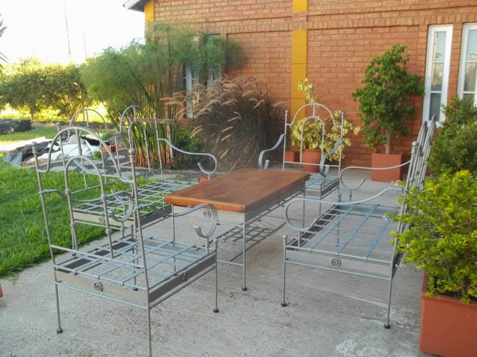 Juego de sillones para jardín 1/2 | | Herrería Artística |
