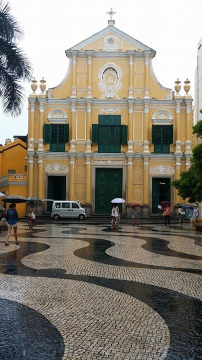 St. Dominic Church Senado Square Macau