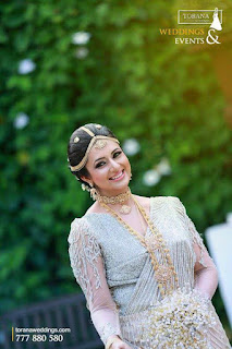 Divyanka Tripathi Models for Shrri Lankan Fashion Bridal Events Organizers Bridal Beauty