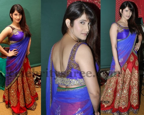 Regal Look Sangeet Half Saree