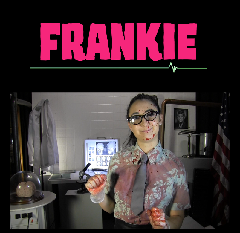 FRANKIE shown on Bizarre TV