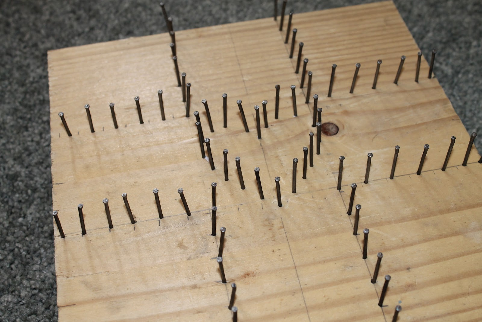 Lenten Nail And String Art Do Small Things With Great Love