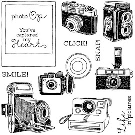 April Stamp of the Month - Life In Pictures