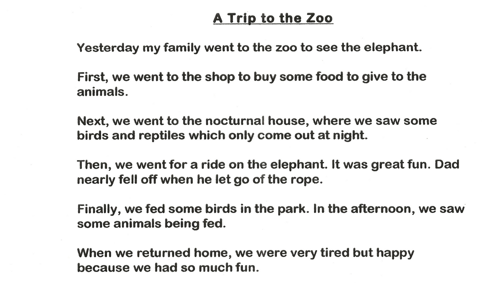 The Zoo Story - Essay
