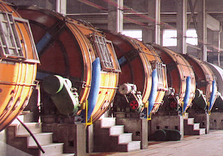 Leather wooden drum tannery machine