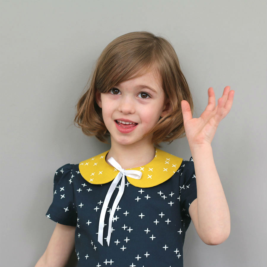 Free Pattern & Tutorial | Detached Peter Pan Collar