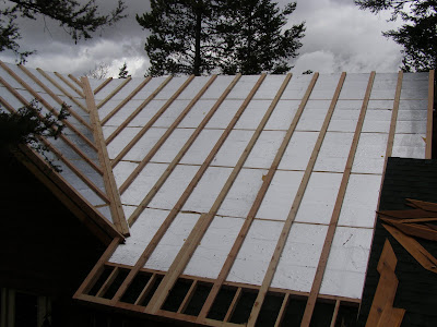 Insulated Roof Panel Retrofit by RAYCORE - Palmer Cabin Framed