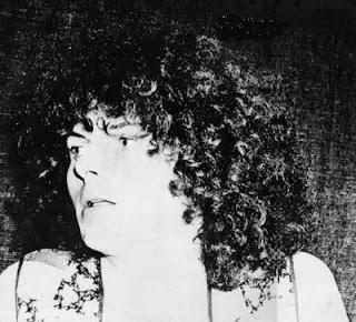 El músico electrónico francés Serge Ramsès en la contraportada de su álbum Secret de 1978
