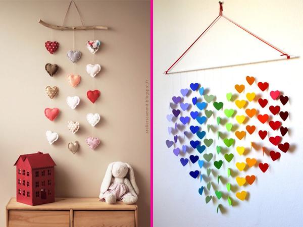 Coração Decoração Móbile Home Heart Decor Idea
