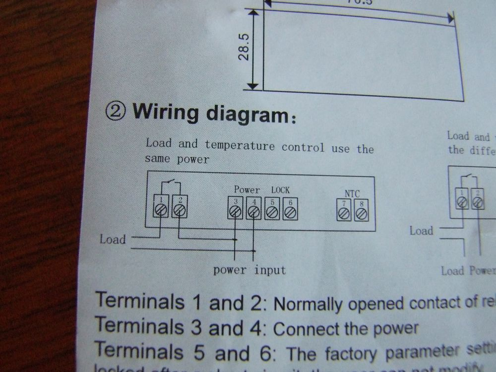 Wiring Diagram For Fridge Thermostat : The super fridge upright freezer conversion