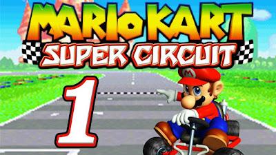 Mario Kart Super Circuit, minijuegos en la red