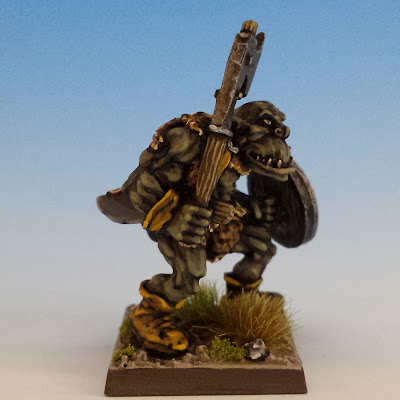 Giant Black Orc Axe 2, Citadel (sculpted by Bob Olley, 1990)