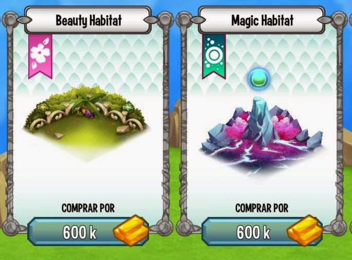 Habitat da Beleza e Habitat da Magia