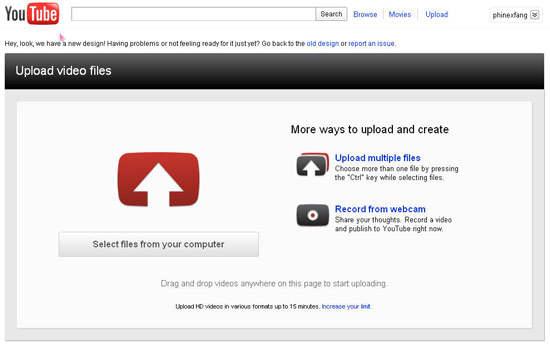 Cara upload video ke youtube arman201043112 for Dans youtube