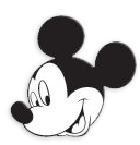 cara de imprimir mickey mouse