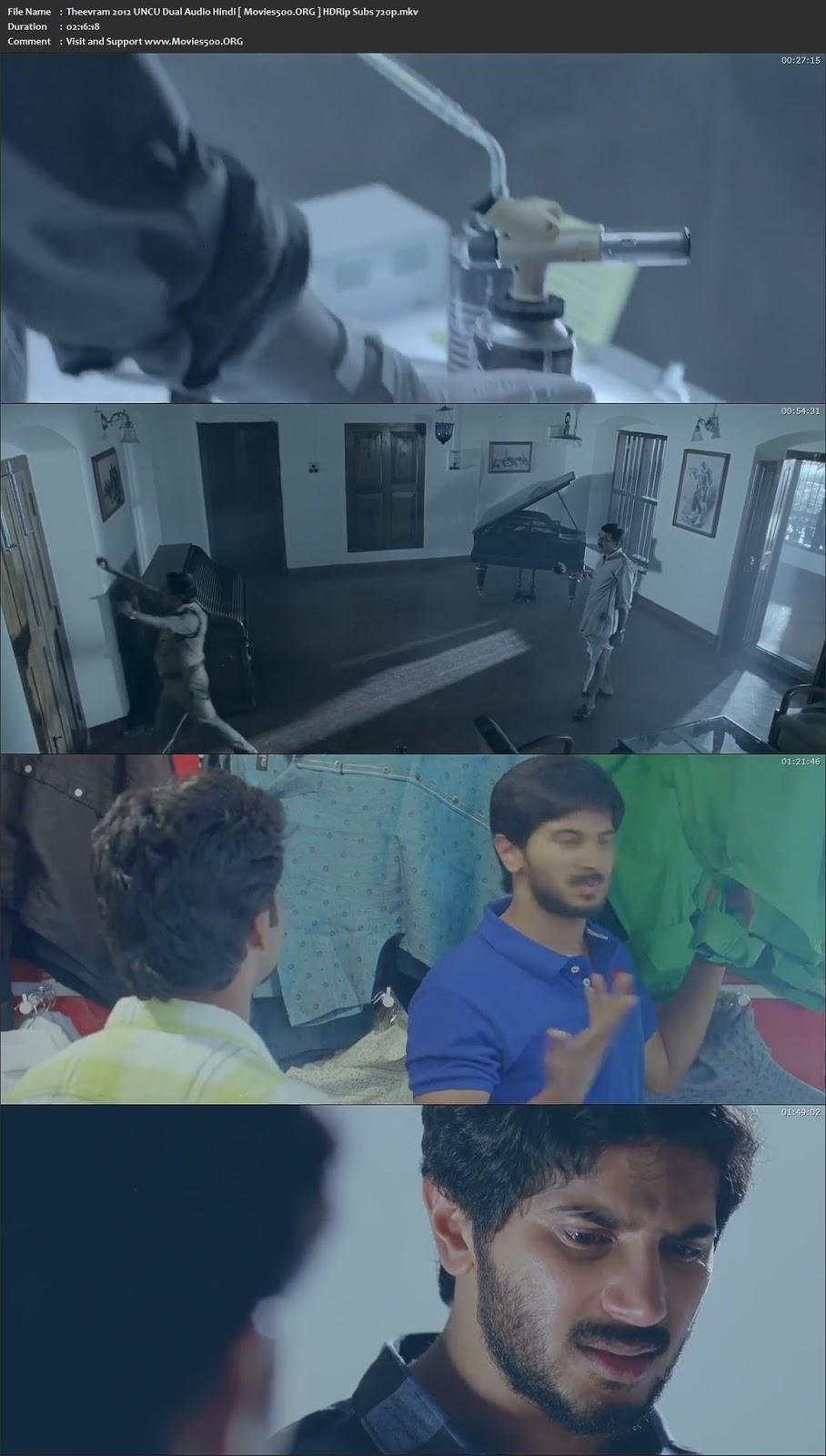 Theevram 2012 UNCU Dual Audio Hindi HDRip ESubs 720p