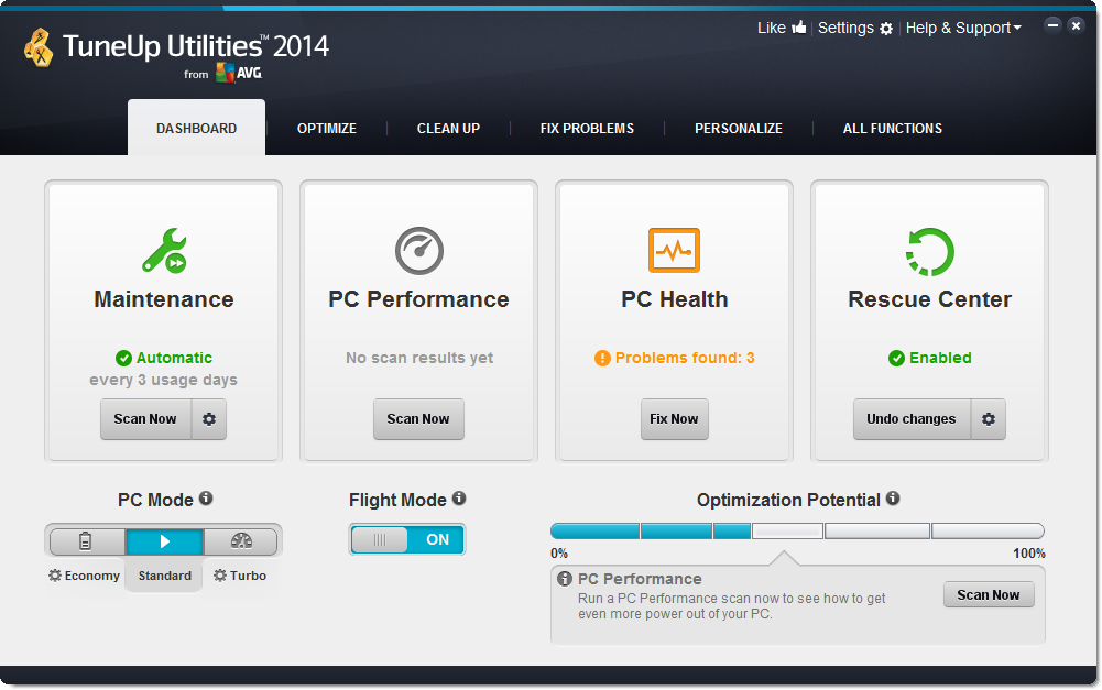 TuneUp Utilities 2014 With Key Final Edition