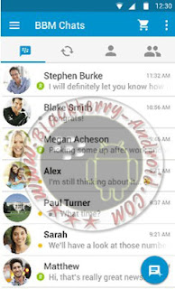 MULTI BBM MOD Real Connected Free Sticker Versi Beta 2.9.0.0.1.127