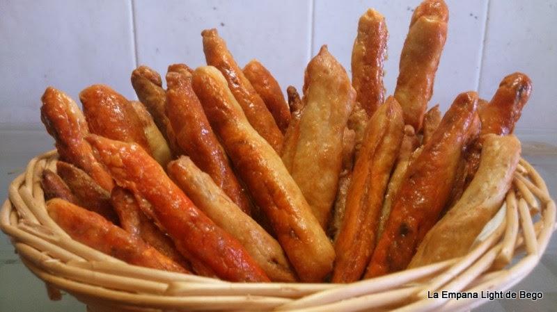 Palitos salados rellenos de sobrasada y anchoa