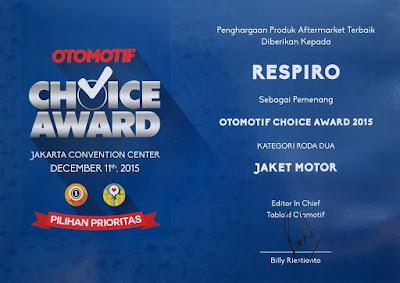 penghargaan Otomotif Choice Award