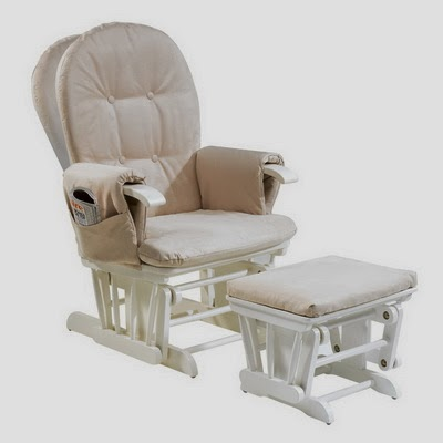 View Details Of Tutti Bambini Poppy Glider Chair White