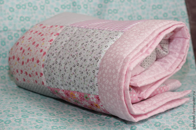 покрывало в детскую кроватку, текстиль для детей