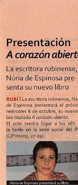 ENTREVISTA REVISTA EL PREGÓ