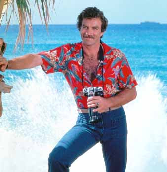 The Magnum P.I. Hawaiian Shirt: It made chest hair and The Stauche Famous!!