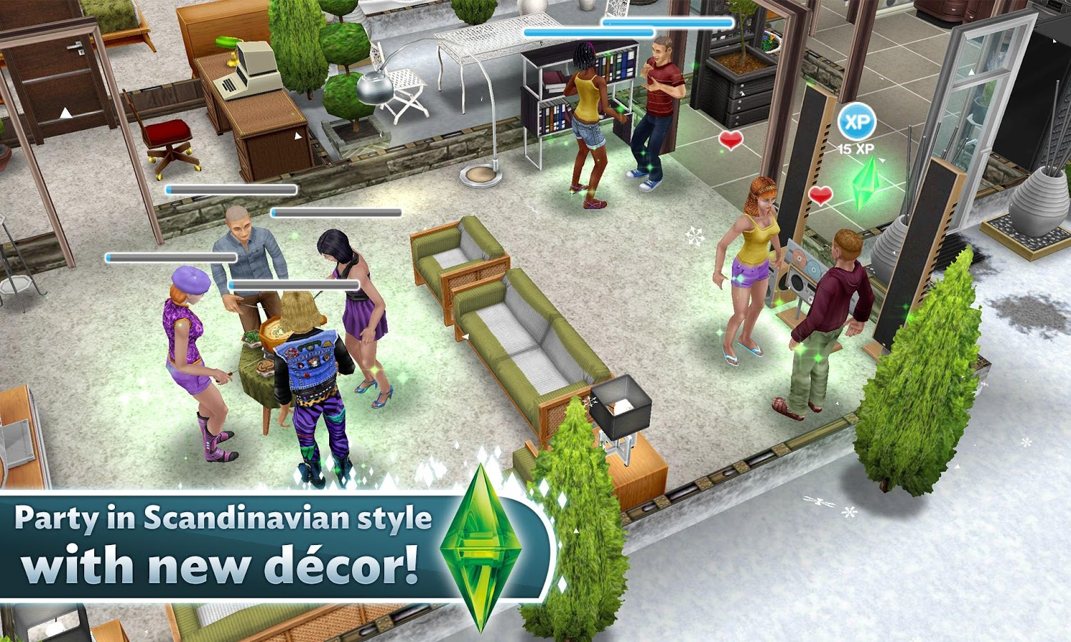 The Sims FreePlay v2.3.11 Mod Apk With Unlimited Money