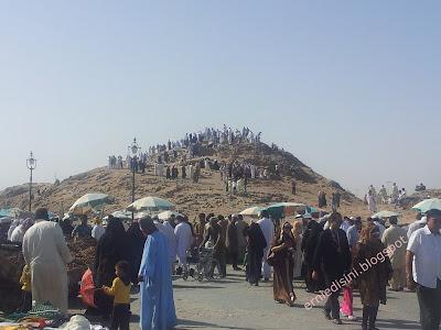 bukit uhud di Madinah